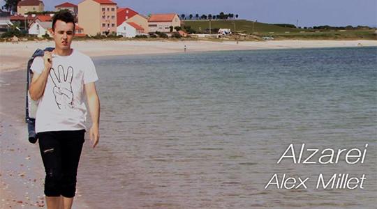 """Realización do videoclip """"Alzarei"""""""
